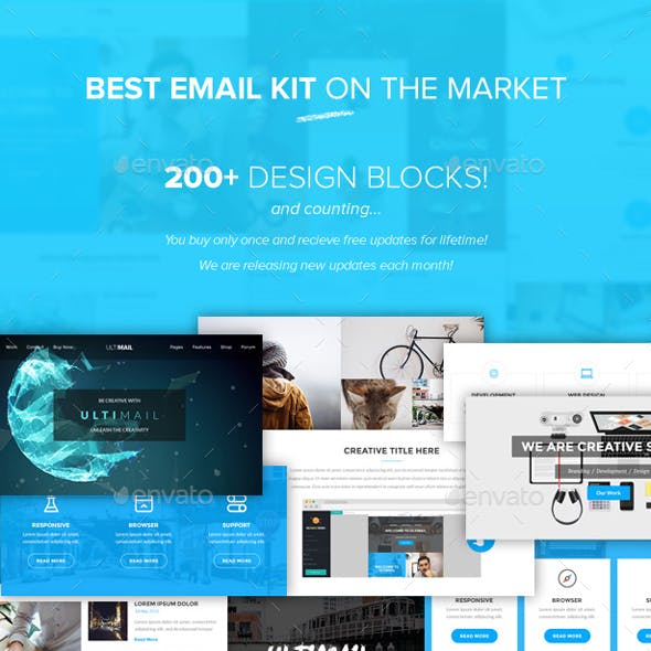 UltiMail - Multipurpose Email PSD Template