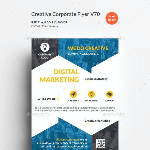 Creative Corporate Flyer V70