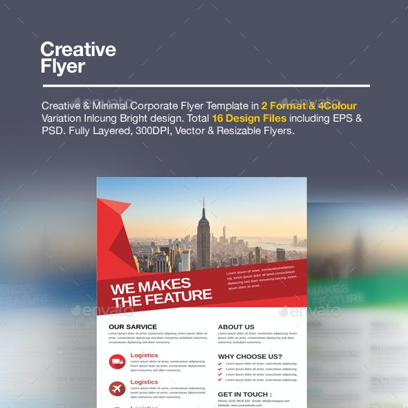 2in1 Creative Flyer Pack