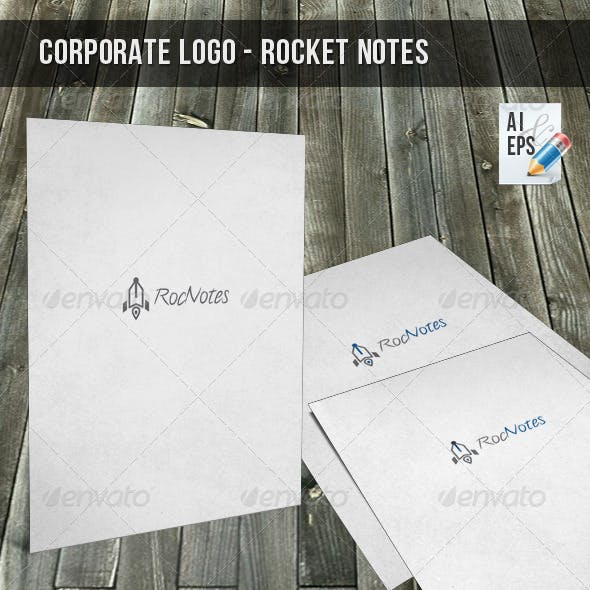 Corporate Logo - Rocket Notes