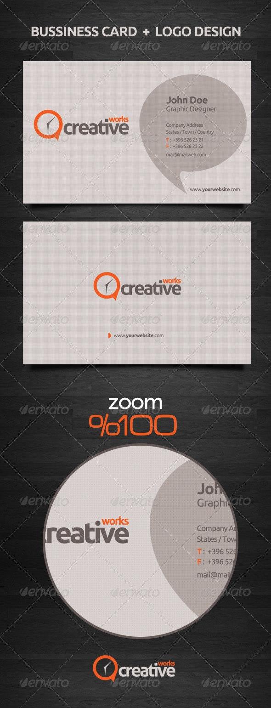 Bussiness Card + Logo Design - Creative Business Cards