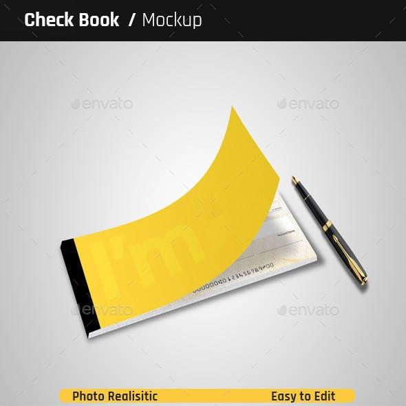 Check Book Mock-Ups