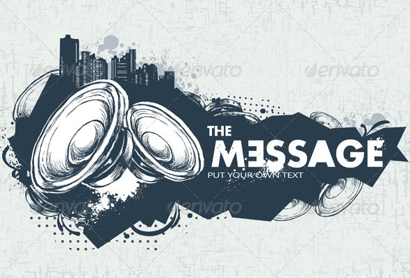 Modern Sketchy Style Banner - Backgrounds Decorative