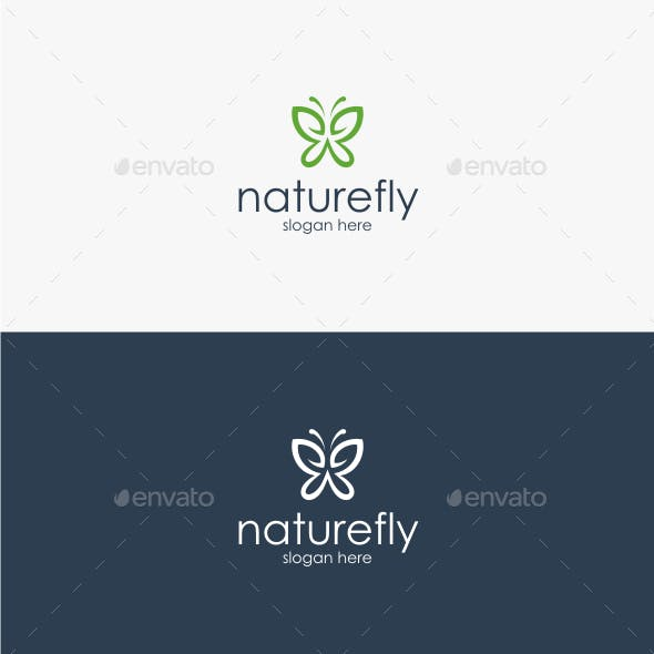 Nature Fly - Logo Template