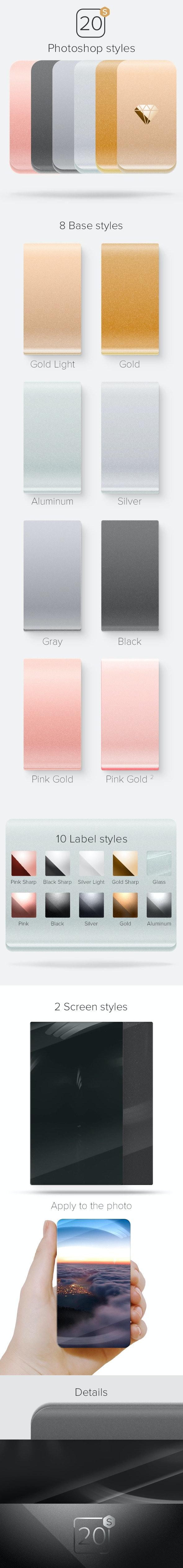 20S Styles - Styles Photoshop