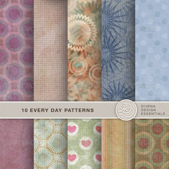 10 Seamless Every Day Patterns