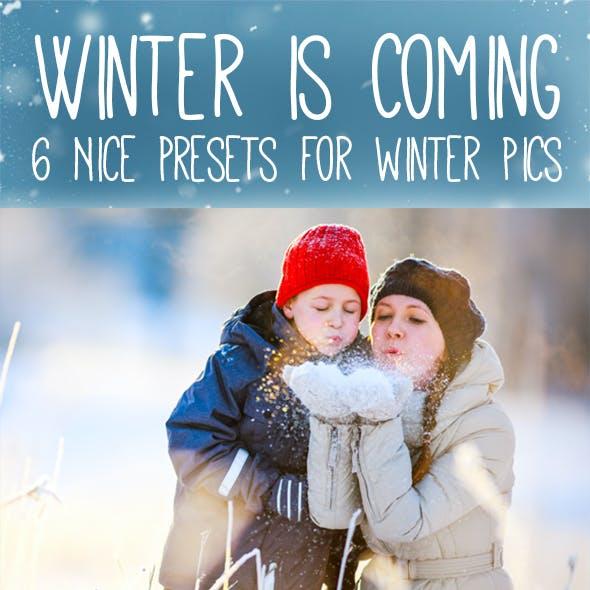 6 Winter Special Presets
