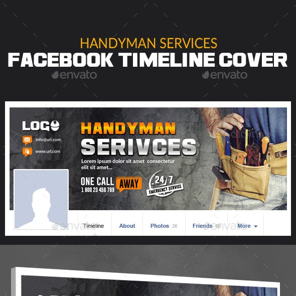 Business and Handyman Web Elements from GraphicRiver