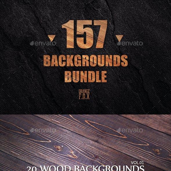 157 Backgrounds Bundle