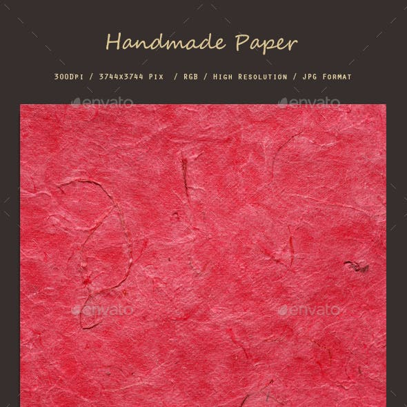 Hand Made Paper 0214