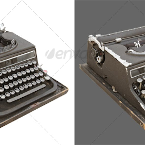 Typewriter retro