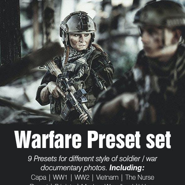 Warfare Premium Presets