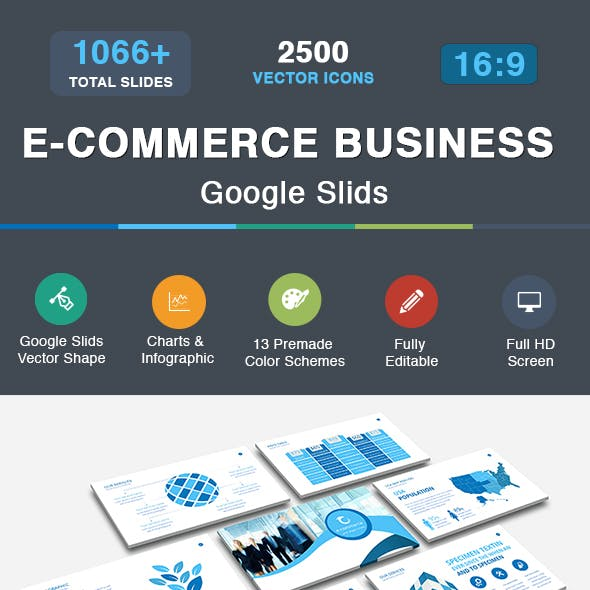 E-Commerce Business Google Slids