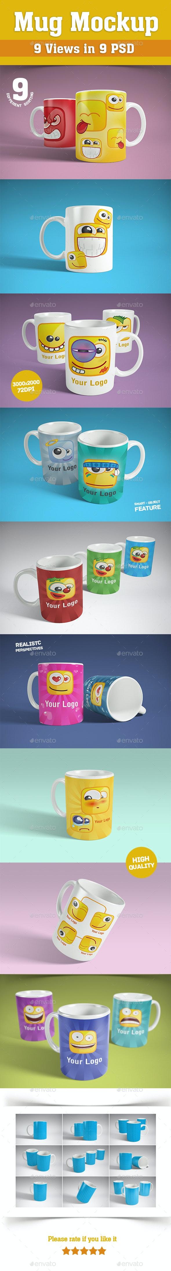 Mug Mockup - Product Mock-Ups Graphics