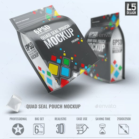 Quad Seal Pouch Mock-Up