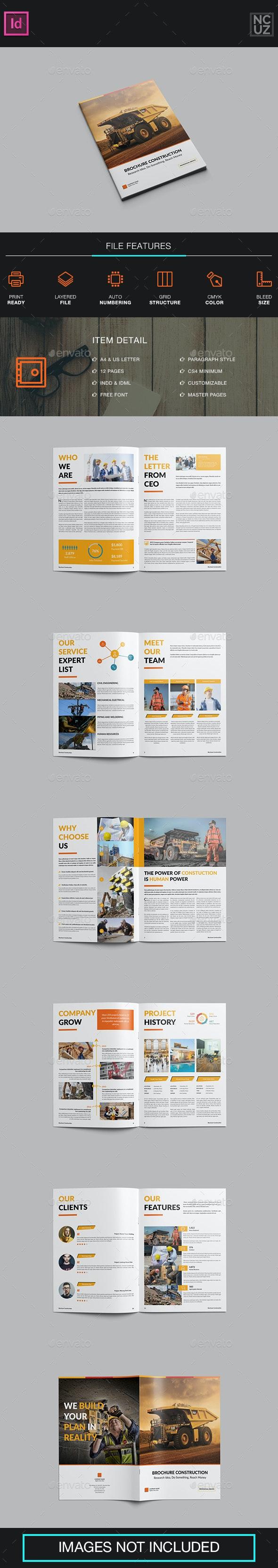 Brochure Construction Company - Corporate Brochures