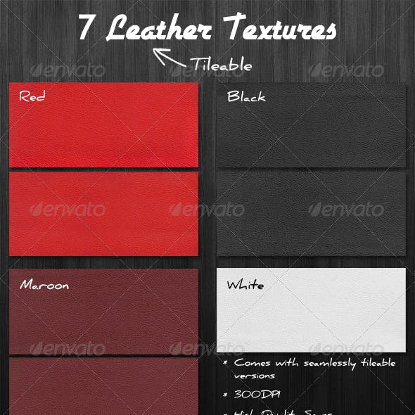 7 Leather Textures