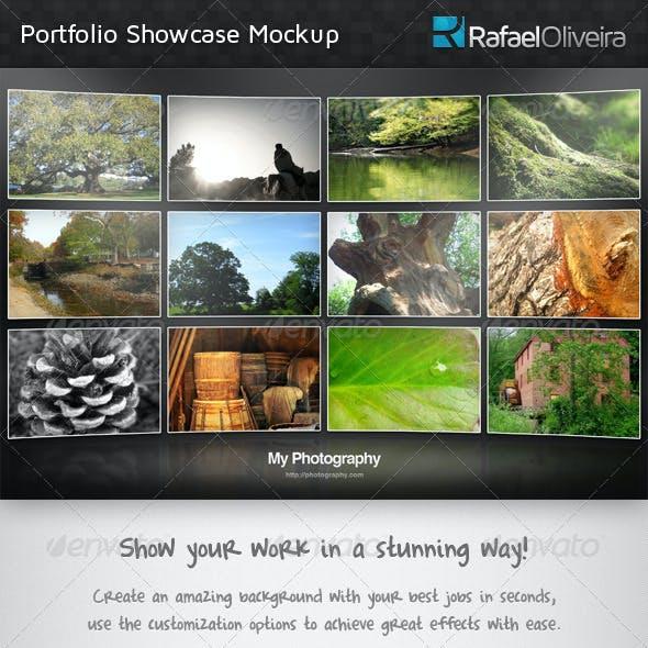 Portfolio Showcase Mockup