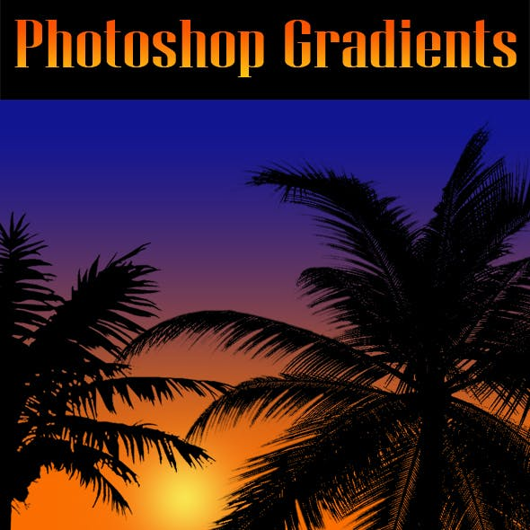 40 Sunset PS Gradients GRD.