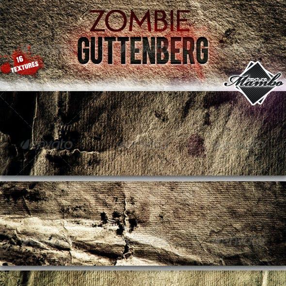 Zombie Guttenberg - Paper textures
