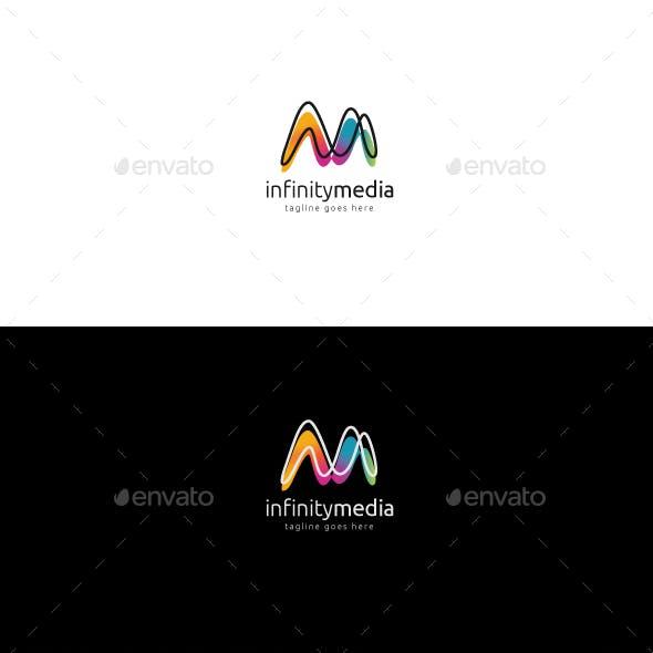 Infinity Media Logo by designhatti