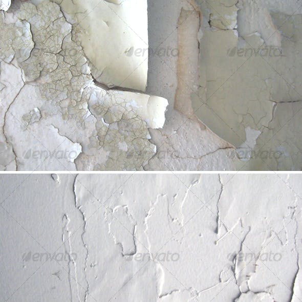 Cracked Paint Wall Textures Pack 2