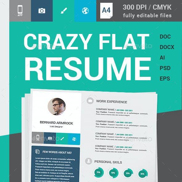 Crazy Flat Resume