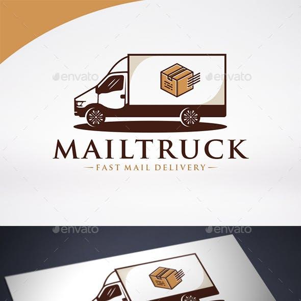 Transport Truck Logo Template