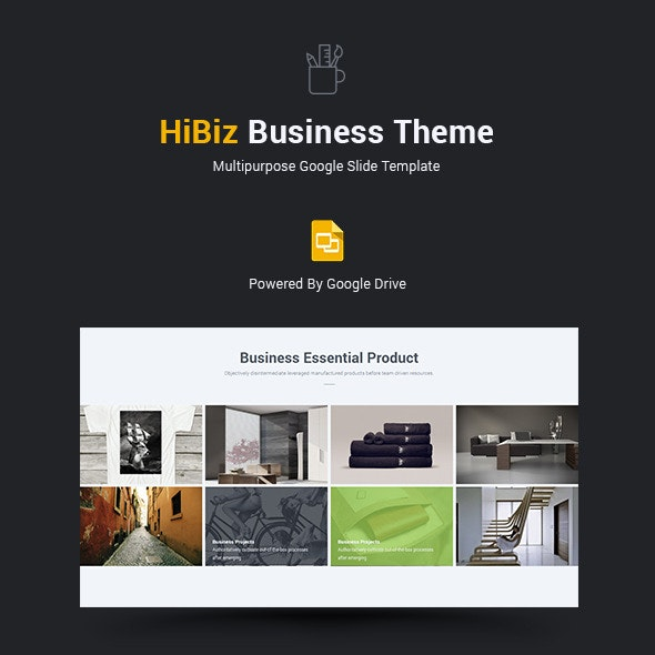 HiBiz Multipurpose Business Theme - Google Slides Presentation Templates