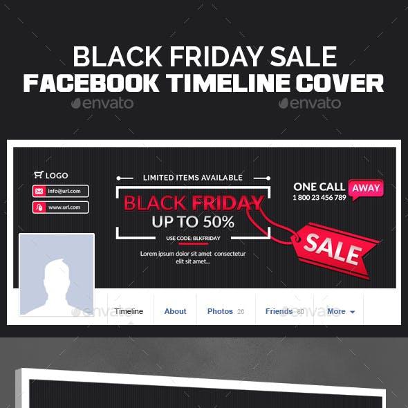 Black Friday Facebook Timeline Cover