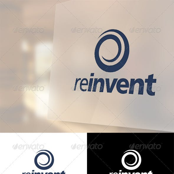Reinvent Logo Template