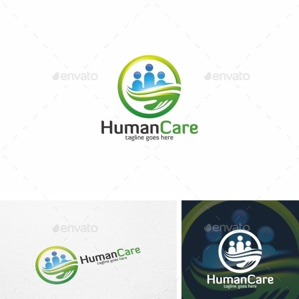 Human Care / People - Logo Template