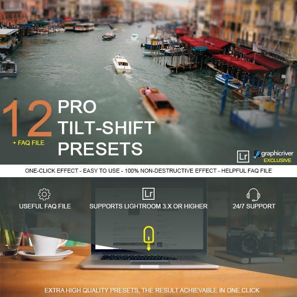 12 Pro Tilt-Shift Presets