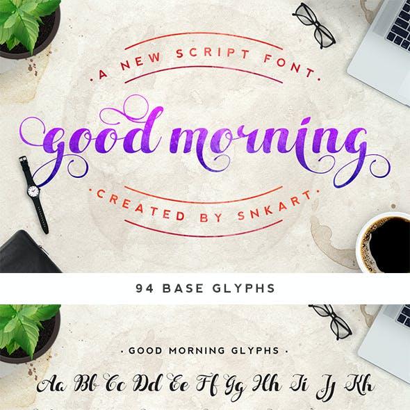 Good Morning Script