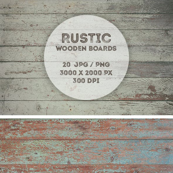 20 Rustic Wooden Backgrounds