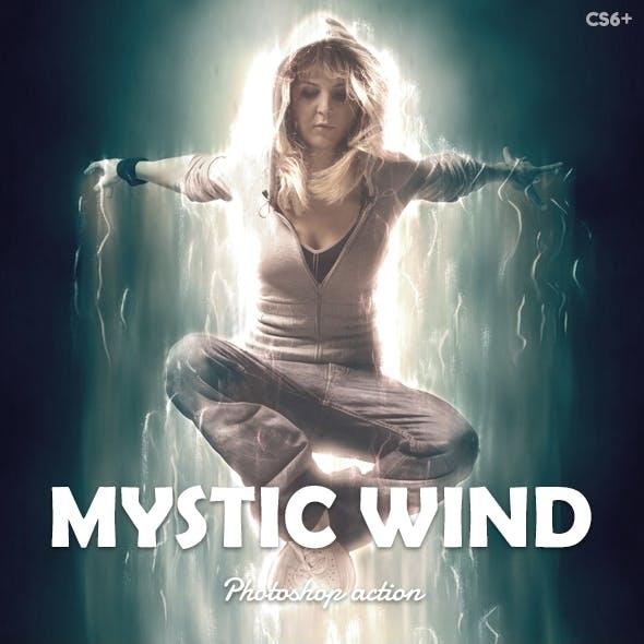 Mystic Wind Photoshop Action