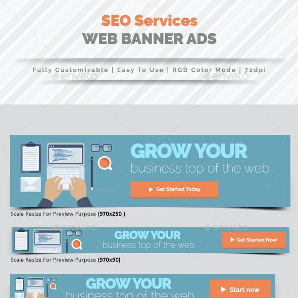 SEO Web Banner Ads Vol.2