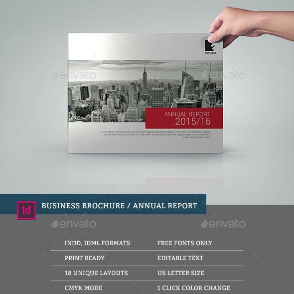 Multipurpose Corporate Annual Report Brochure