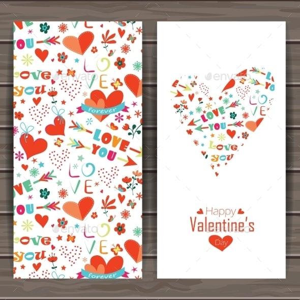 Happy Valentines Day Card. - Valentines Seasons/Holidays