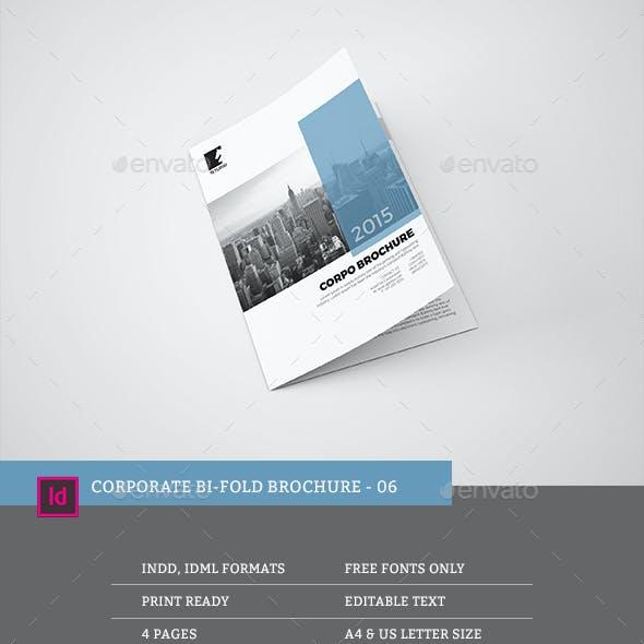 Corporate Bi-fold Brochure 06