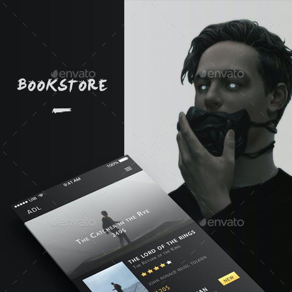 Bookstore - Phone UI Template