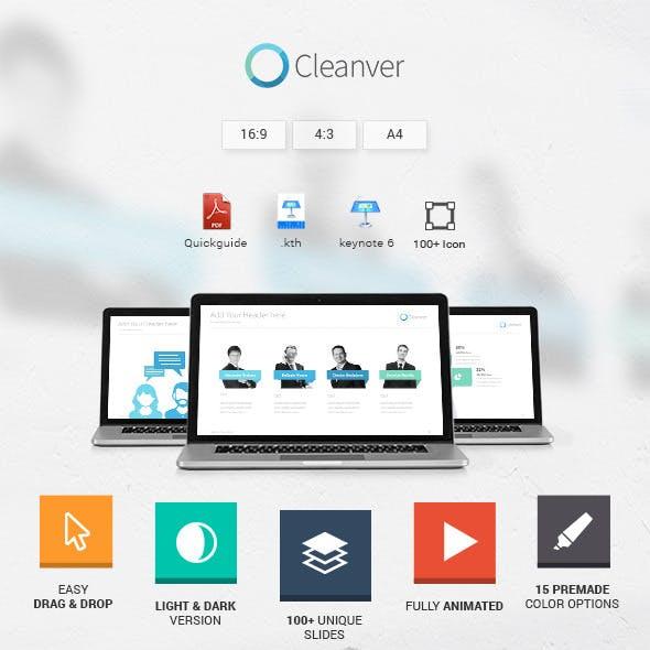 Cleanver - Clean Keynote Presentation