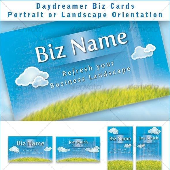 Daydreamer Biz card