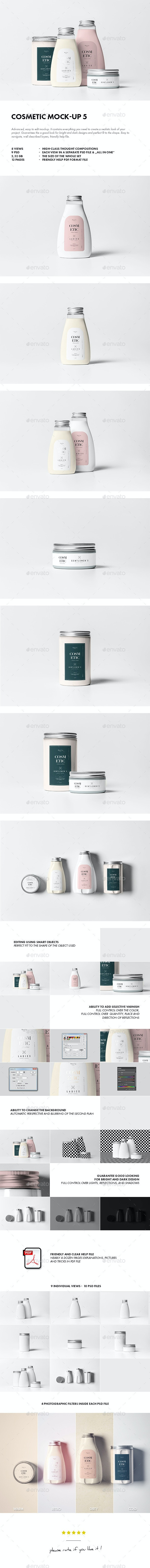 Cosmetic Mock-up 5 - Beauty Packaging