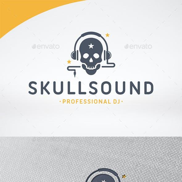 Skull Sound Logo Template