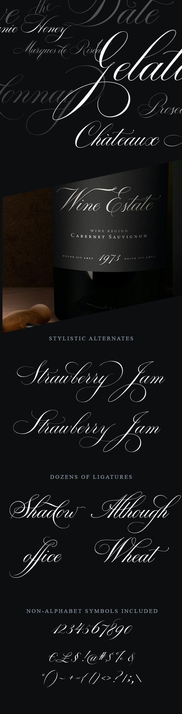 Bodega Script - Calligraphy Script