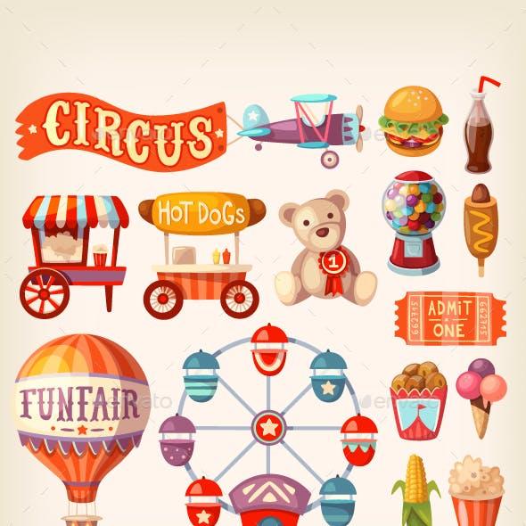 Fun Fair Icons