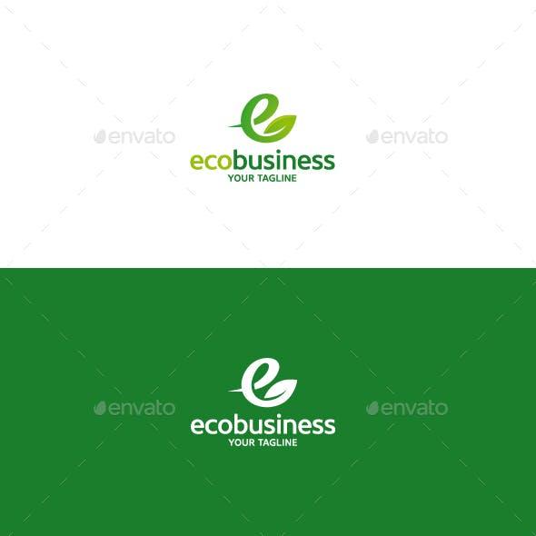 Eco Business Logo