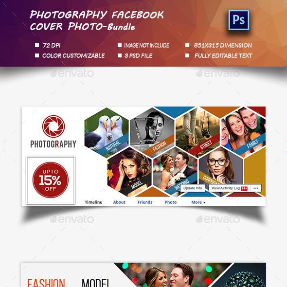 Photography  Cover Photo-Bundle