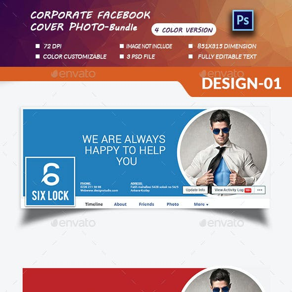 Corporate  cover Photo Bundle